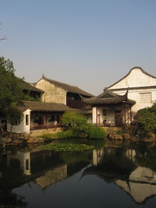 The famous gardens of Suzhou - usually filled with international tourists and national art students.